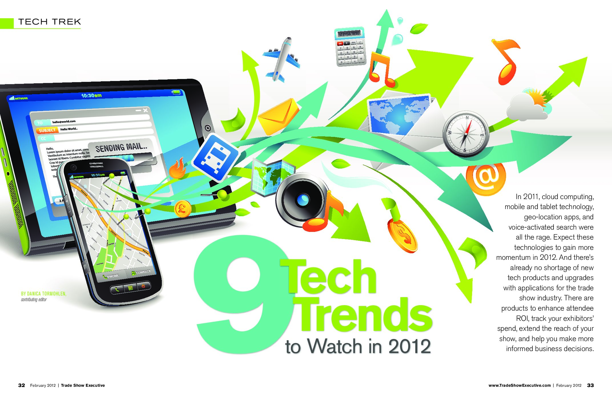 Tech Trends to Watch in 2012