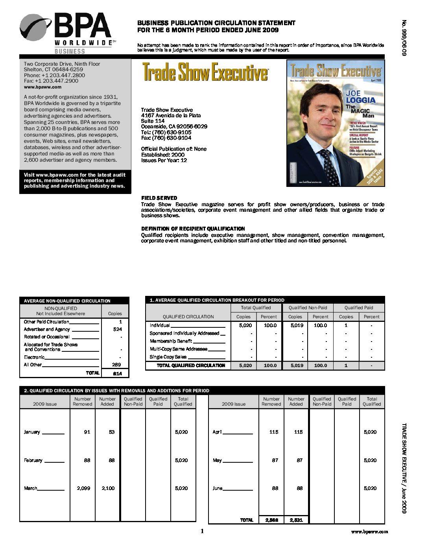 BPA Audit January-June 2009
