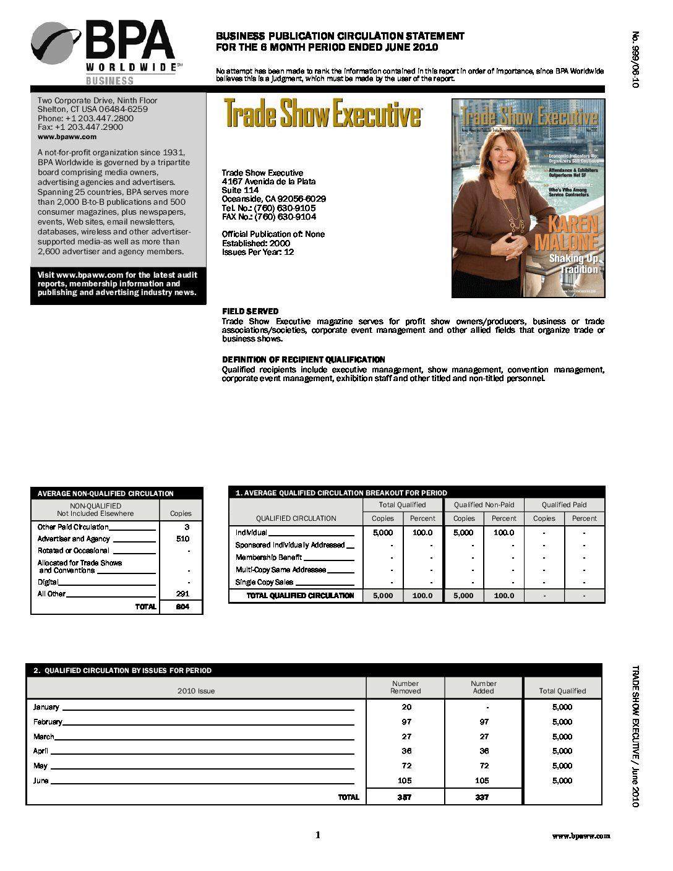 BPA Audit January-June 2010