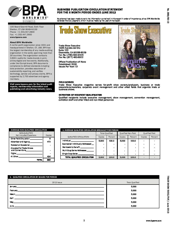 BPA Audit January-June 2013
