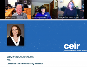 CEIR research COVID-19 event industry recover
